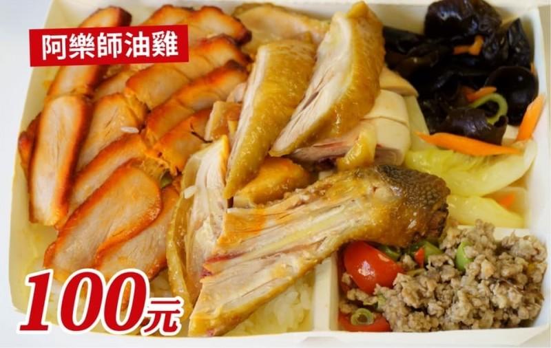 台南市長黃偉哲加入「百元便當拚鬥」行列,臉書PO出台南各式便當。(取自黃偉哲臉書)