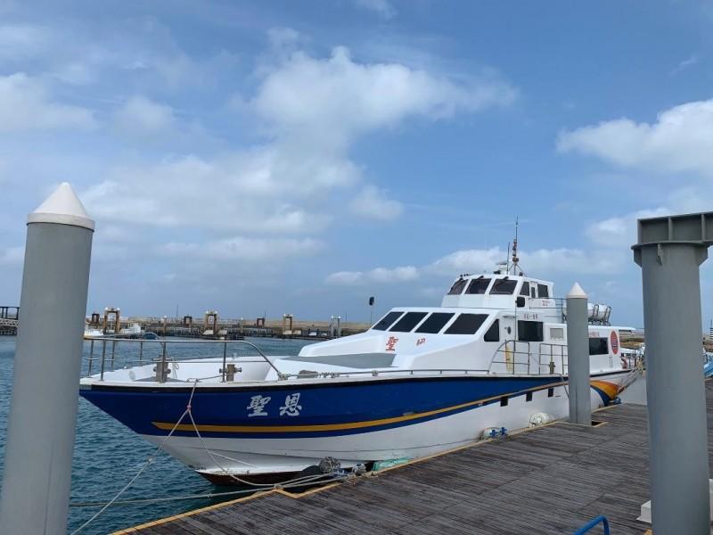 離島交通船即日起全面檢測體溫,體溫超過拒絕搭載。(澎湖縣政府提供)