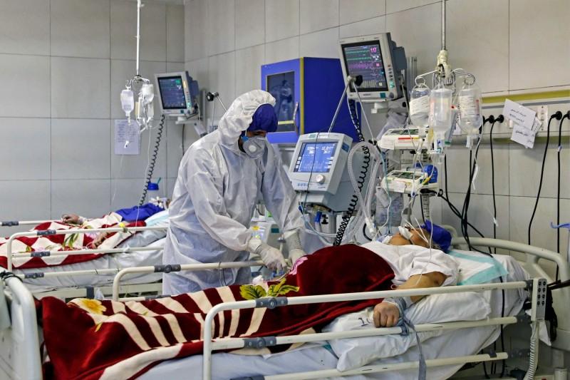 伊朗今日新增586例武漢肺炎確診病例,累計確診數達2922例。(法新社檔案照)