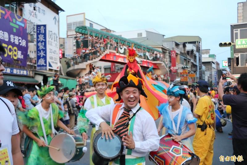 「頭份四月八」為客庄12大節慶之一,過往皆有盛大的踩街及千人宴活動,但今年受疫情影響,頭份公所宣布延期舉行。(記者鄭名翔攝)