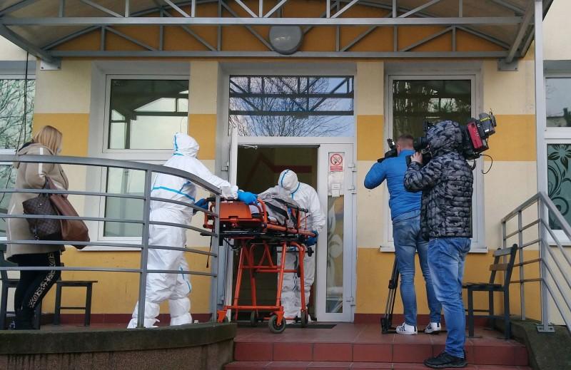 德國武漢肺炎疫情單日暴增超過100例確診,累積確診數來到349例。(歐新社)