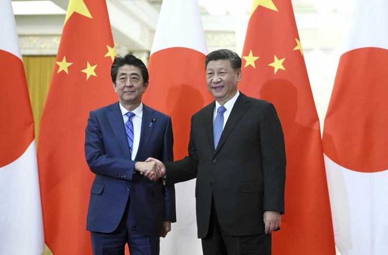 中國國家主席習近平延後訪日,原本正討論簽署的第5份「政治文件」也暫擱置。(美聯社)