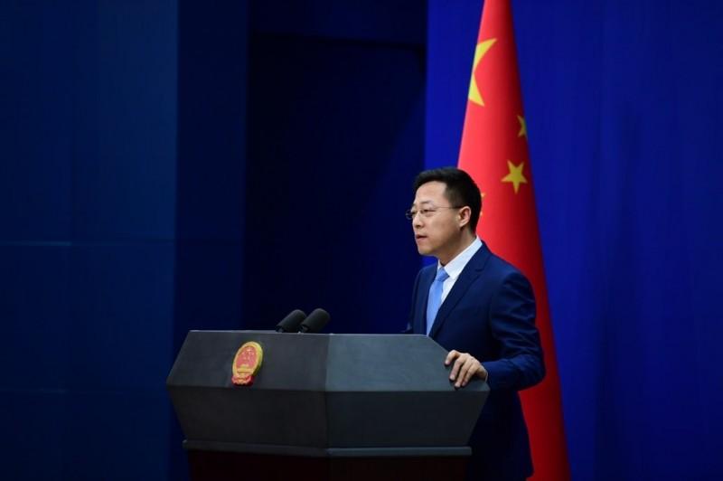 趙立堅認為,中國不需要為新型冠狀病毒引發的疫情道歉。(圖取自趙立堅臉書)