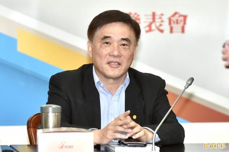 國民黨主席補選候選人郝龍斌認為,未來國民黨中常委的產生,應該要有地域代表性考量。(資料照)