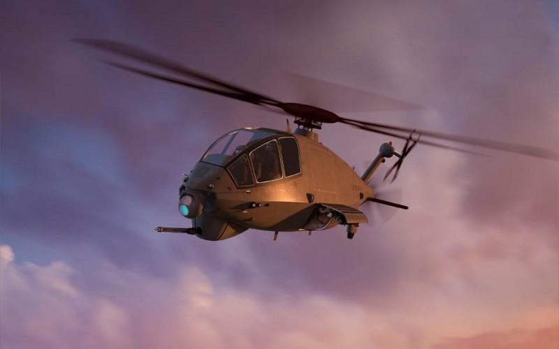 波音公布新型攻擊偵察機。(圖片取自波音)
