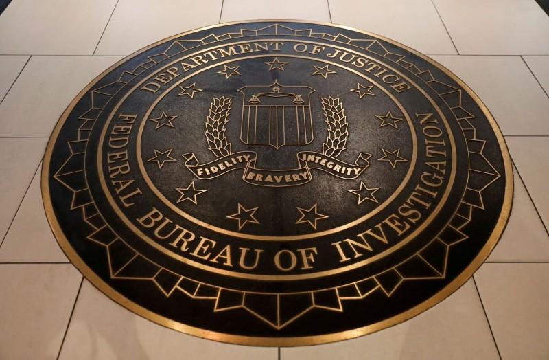 美國FBI證實有一名員工確診武漢肺炎。(路透)