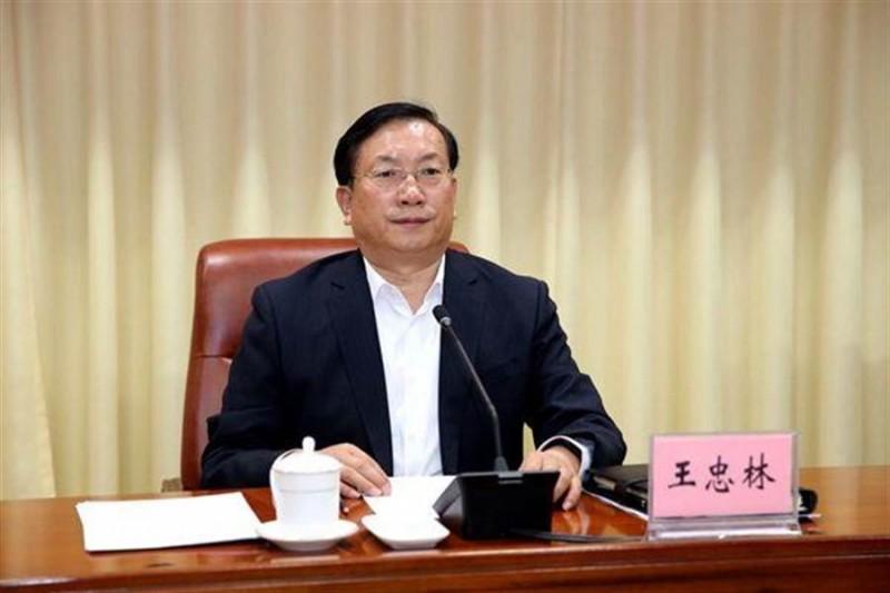 中國武漢市委書記王忠林昨(6)日表示,要對武漢展開「感恩教育」,要求市民感謝總書記、感謝黨。(圖擷自微博)