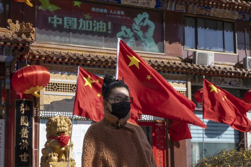 中國武漢肺炎疫情尚未結束,該國東北部又爆發A型肝炎。(美聯社檔案照)