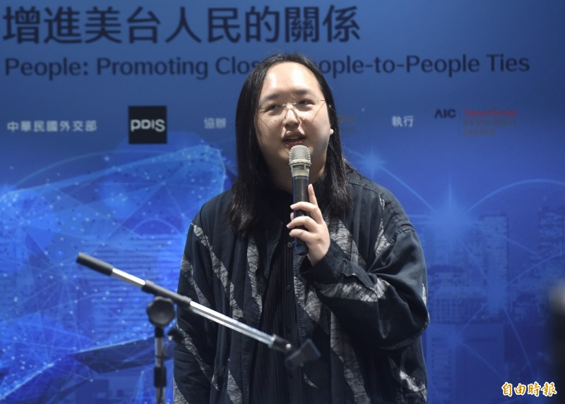 行政院數位政委唐鳳(見圖)日前整合民間業者創意推出的「口罩地圖」備受國人肯定,也在國際上爆紅。(資料照)