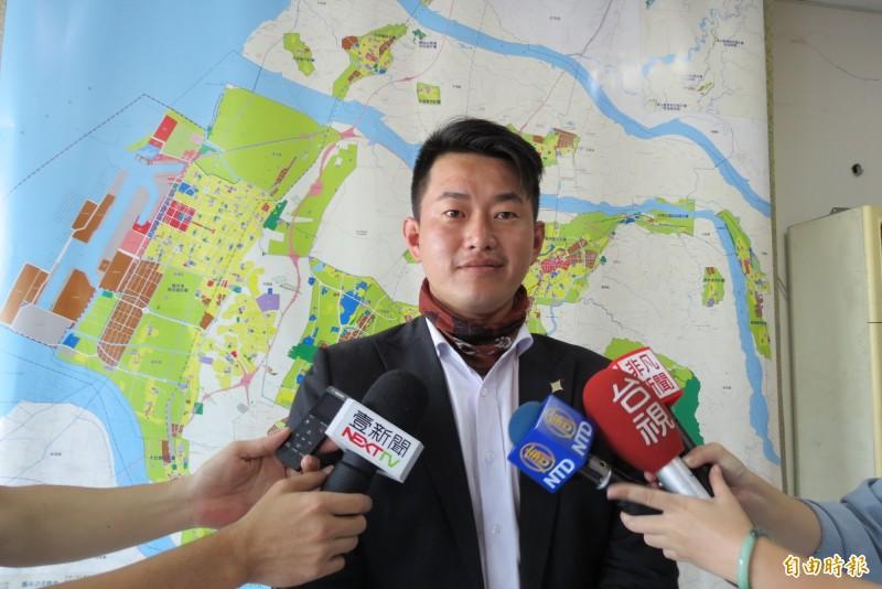 台灣基進立委陳柏惟強調,「最重要的是保障民眾的權益,並找回台灣自己的主體地位」。(資料照)