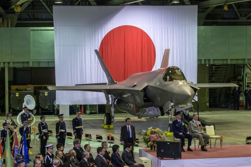 美國對日本的軍武出口量增加85%。圖為日本航空自衛隊F-35。(路透)