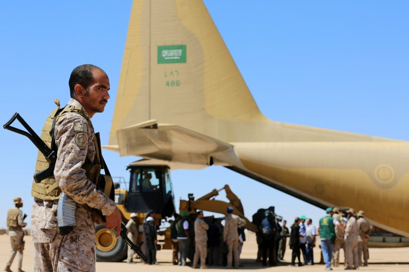 沙烏地阿拉伯成為世界最大軍武進口國,在全球軍武進口總量上達到12%。(法新社)