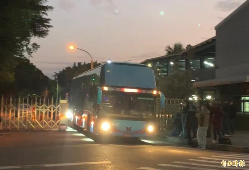 首批武漢台商包機有69人入住台中檢疫所,無人確診,上月18日期滿離開。(記者蔡淑媛攝)