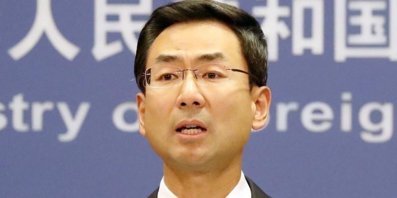 美國國務卿龐皮歐(Mike Pompeo)近日多次稱呼「武漢病毒」,讓中國外交部發言人耿爽(見圖)不滿,反嗆美國「做法卑劣」。(歐新社)