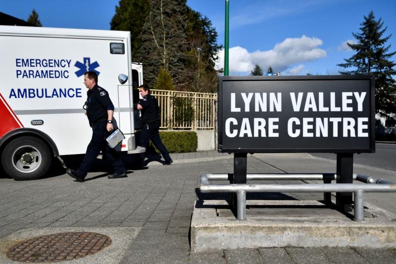 加拿大今日爆出首起武漢肺炎死亡案例,死者生前住在溫哥華北部林恩古療養院。(路透)