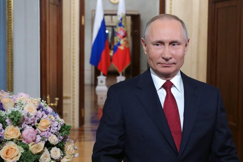 俄羅斯執政黨支持一項憲法修正案,允許俄國總統普廷(Vladimir Putin)再次競選總統,使他有可能掌權至2036年。(歐新社)