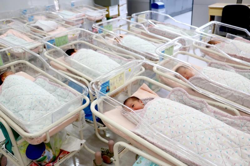 台灣出生率持續低迷,已成為嚴重國安問題。(資料照)
