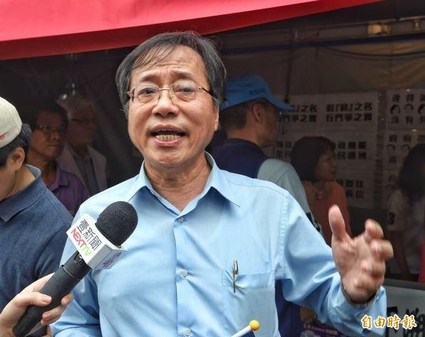 全國公務人員協會榮譽理事長李來希痛批購買口罩「要先學會上網上線」,造成老年人困擾。(資料照)