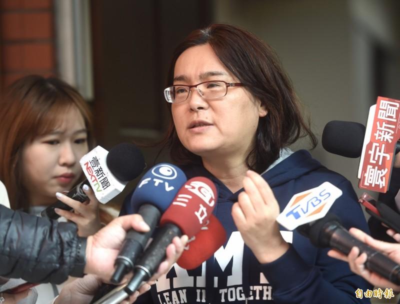 陳芳明表示,陳玉珍擔任立委期間,唯一讓大家記憶深刻的就是「手被夾到」。(資料照)