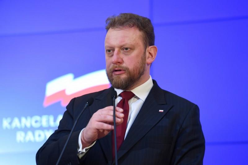 波蘭衛生部長今受訪說,下週境內確診人數可能增至1000。(歐新社)