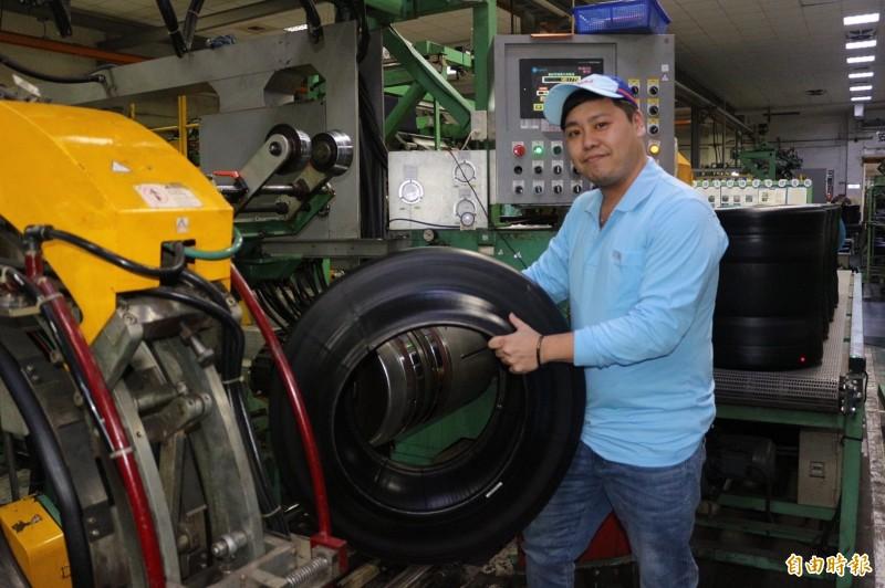 青年離家到雲林工作 ,申請「跨域就業津貼」,獲6萬租屋津貼。(記者詹士弘攝)