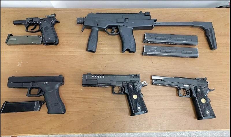 警方查黑槍,查到讓秘密證人身分曝光。(圖為黑槍示意圖,非新聞事件槍隻)