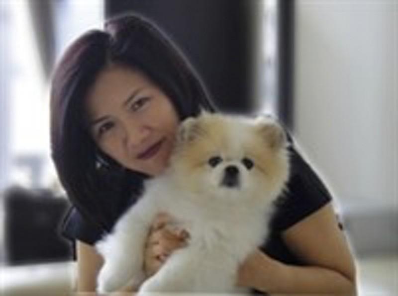 香港武漢肺炎確診者周巧兒飼養的寵物犬,先前被採集到新型冠狀病毒弱陽性反應,成為全球首宗確診犬隻個案。(擷取自網路)