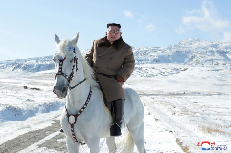 網路媒體認為,金正恩對中國邊境是否開放,或許能做為中國疫情是否安全的觀察指標。(路透檔案照)