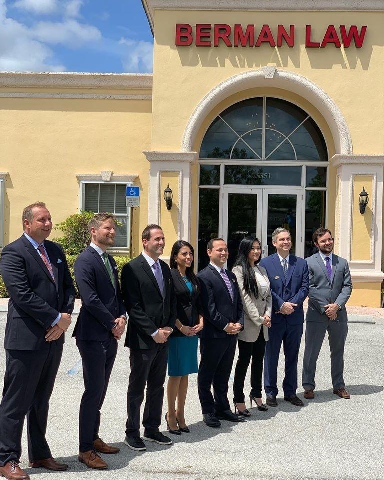 伯曼法律集團是佛羅里達州一間大型法律事務所。(圖/取自伯曼法律集團臉書)