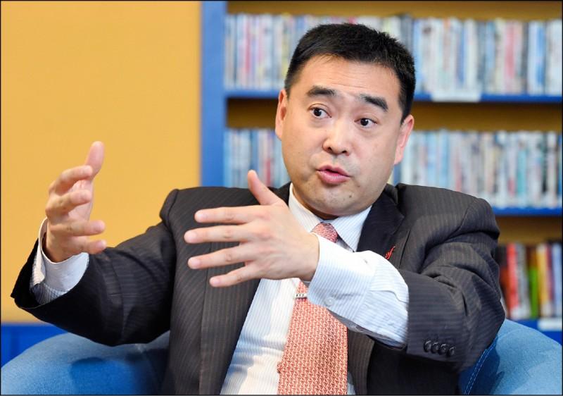 法國文化協會理事長林知延。(記者廖振輝