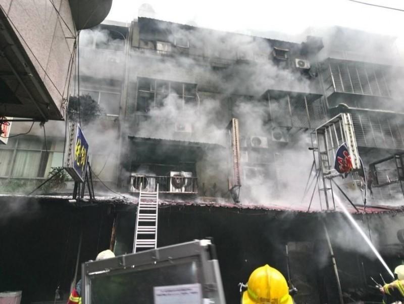 華西街火警釀6死。(資料照,記者劉慶侯翻攝)