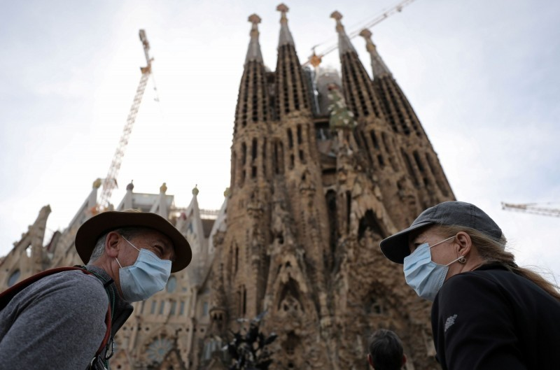 西班牙目前累計11178例武漢肺炎病例、491例死亡,成為歐洲疫情第二嚴重的國家,僅次於義大利。(路透檔案照)