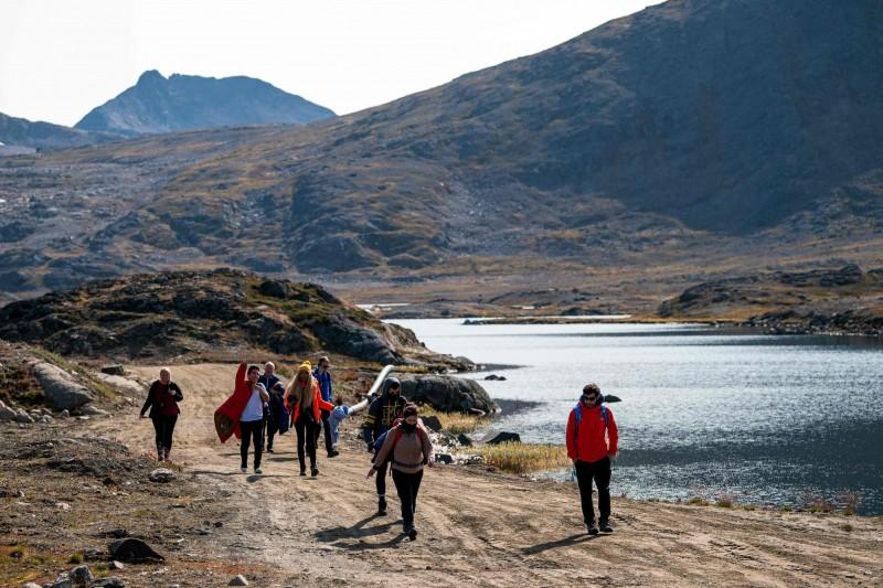 全球最大島嶼格陵蘭出現首起武漢肺炎病例,該名患者居住在首府努克,目前正在居家隔離。格陵蘭示意圖。(法新社)