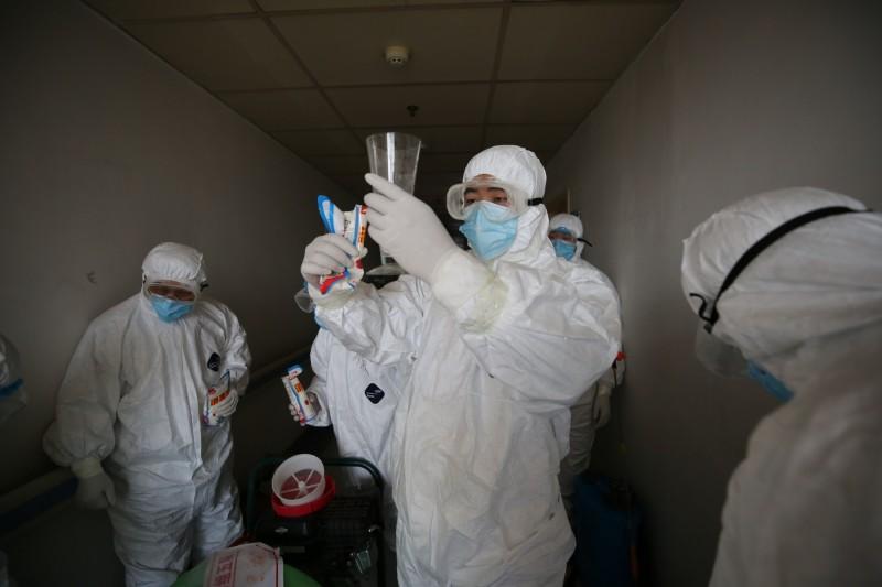 武漢近期出現門診新增確診,被認為是疫情可能再度爆發的「危險信號」。(法新社檔案照)