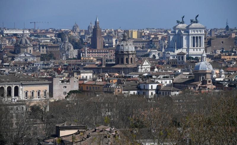 武漢肺炎在歐洲肆虐,義大利為疫情最慘烈的國家。(歐新社)