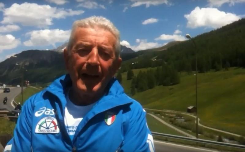 巴利科與義大利首位病逝市長瓦洛帝是多年好友,也曾是義大利越野賽跑國家隊教練。(圖擷自Youtube)