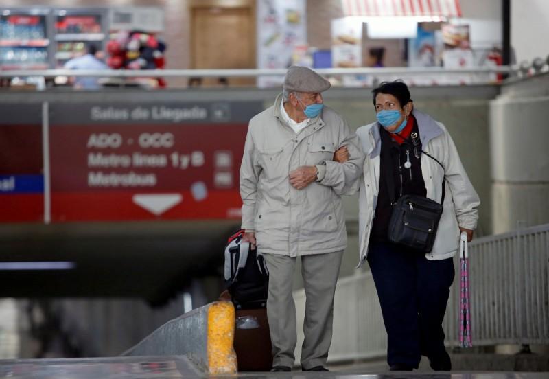 墨西哥出現境內首起武漢肺炎死亡患者,確診病例也從93例增加27%至118例。(路透)