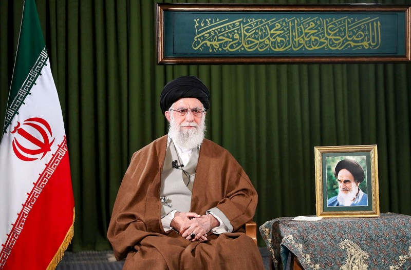 伊朗最高領袖哈米尼。(法新社)