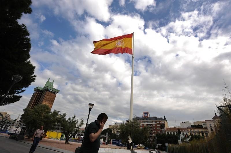 西班牙境內武漢肺炎疫情已累計33089例確診,共有2182人喪生。(彭博檔案照)