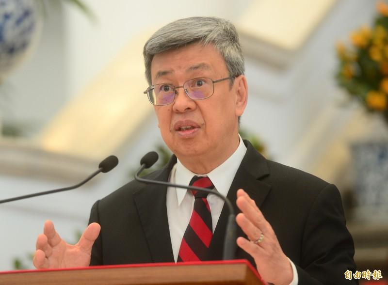 陳建仁:全球疫情緩和至少還要兩個月