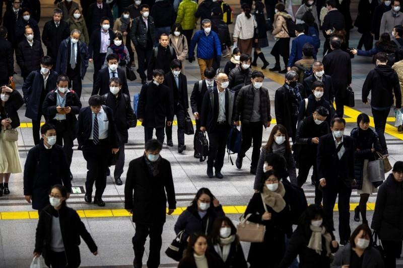 武漢肺炎疫情蔓延日本,東京今日再增17例確診,為疫情以來東京市單日增加最多病例的一天。(路透)
