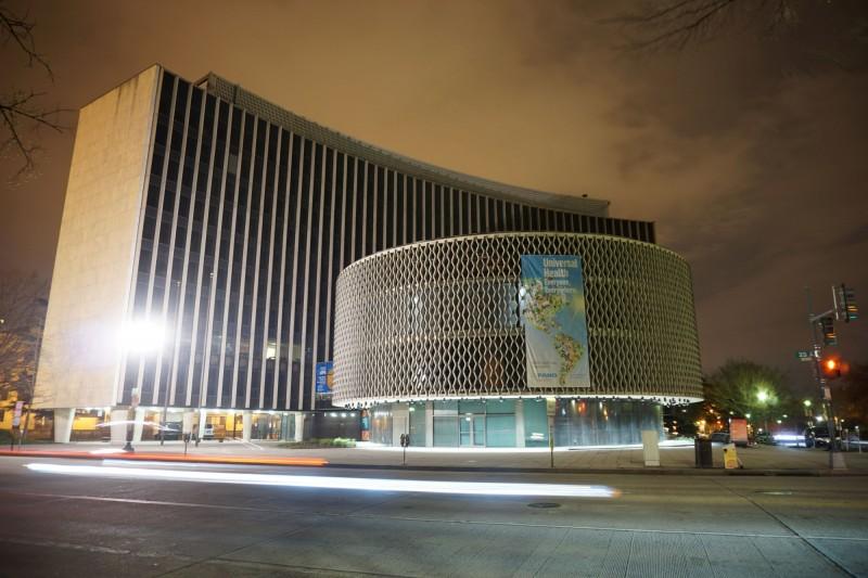 世界衛生組織(WHO)美洲地區辦公室。(路透)
