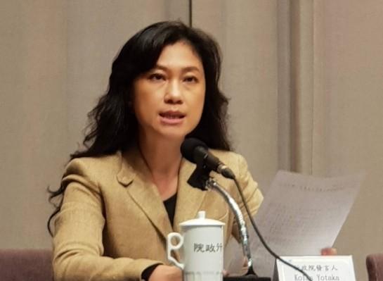行政院發言人谷拉斯.尤達卡(Koals Yotaka)表示,行政院不會取消武漢台商等武漢國人的註記,並採包機返台模式持續與中方交涉。(資料照)