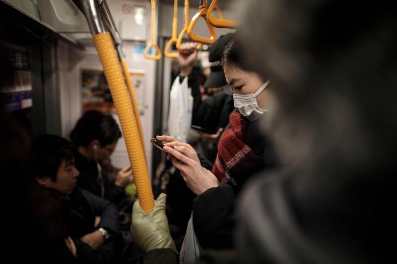 東京都成為日本確診最多的地方行政區。(法新社)