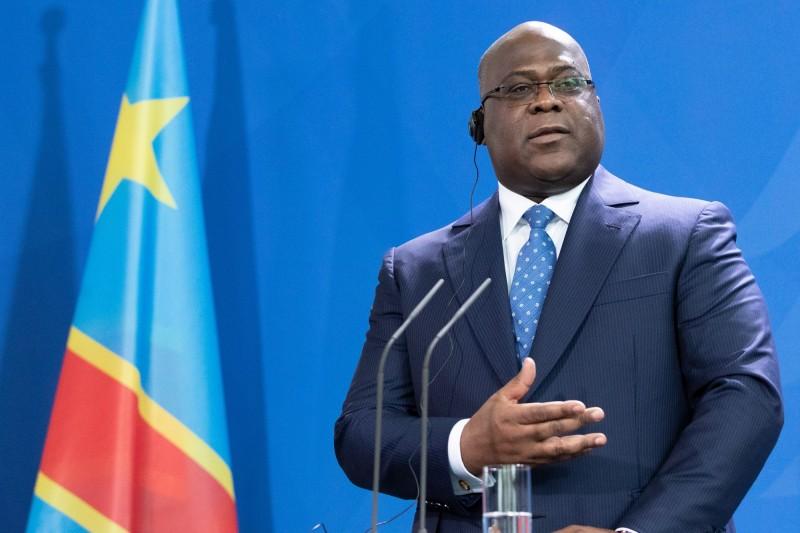 剛果民主共和國總統齊塞克迪宣布進入緊急狀態,將針對旅客關閉邊境,僅允許貨運通行。(歐新社)