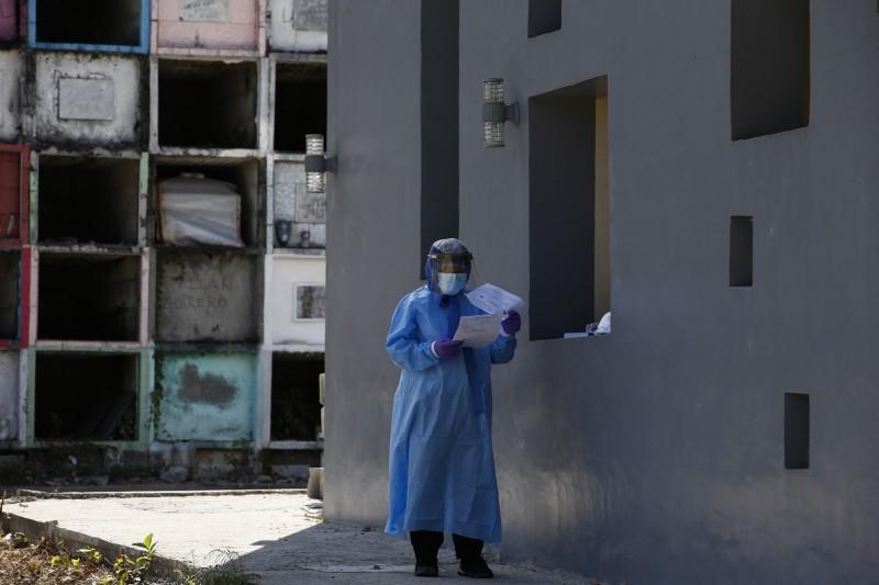菲律賓境內武漢肺炎(COVID-19)疫情升溫,今(25)日新增84例確診和3例死亡。(歐新社)
