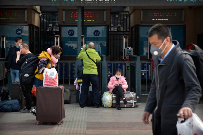 中國湖北省除武漢市已於3月25日解封,也允許跨省移動。(美聯社)