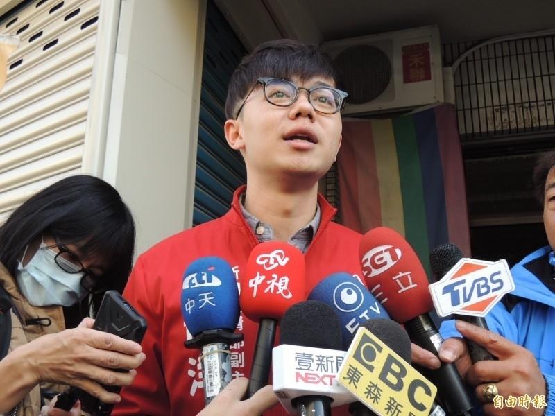 台灣基進新聞部副主任張博洋。(資料照)
