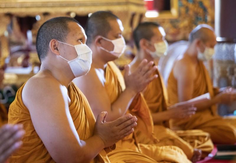 武漢肺炎疫情延燒,泰國累計病例達到1045例。(美聯社)