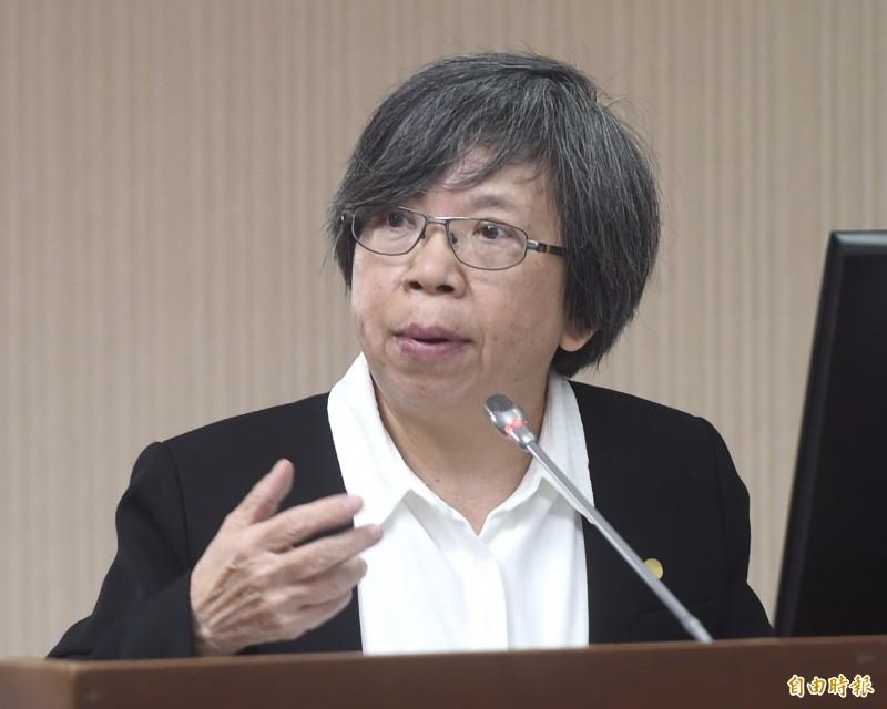 立法院社福及衛環委員會,26日邀請衛生福利部次長蘇麗瓊列席備詢。(記者簡榮豐攝)